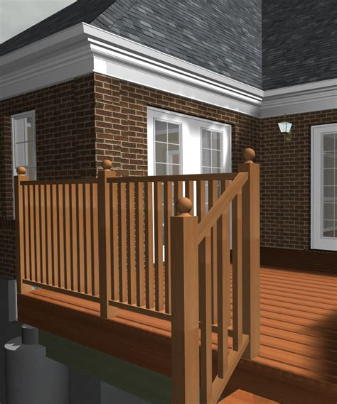 banister post tops softplan home design software railings