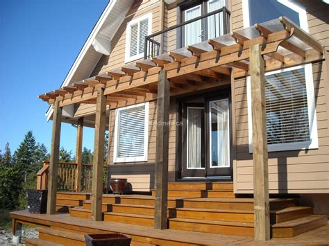 Diy Pergola Plans Attached To House Thediapercake Home Trend