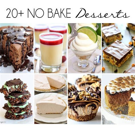 20 no bake desserts wishes and dishes
