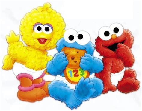 Sesame Street Wall Stickers 6 10 5 quot sesame street babies elmo big bird wall safe