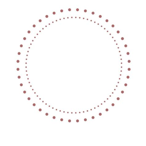 dot template polka dot outline of circle pictures to pin on