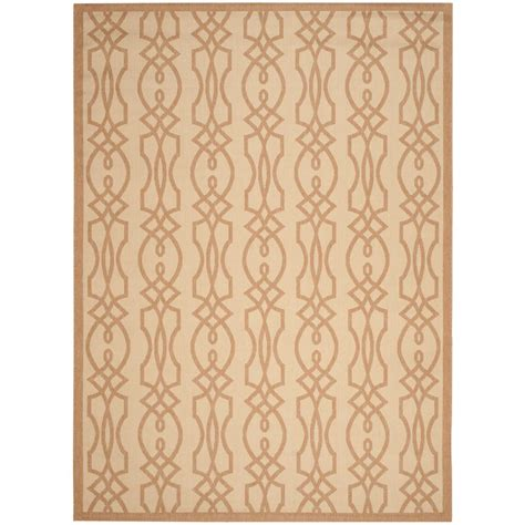 Safavieh Martha Stewart Hickory 8 Ft X 11 Ft 2 In Martha Stewart Outdoor Rugs