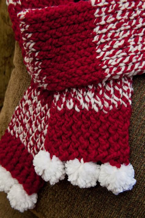 loom knitting by this moment is loom knit scarf