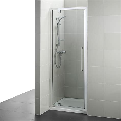 Shower Doors 900mm Ideal Standard Kubo 900mm Pivot Shower Door T7374eo