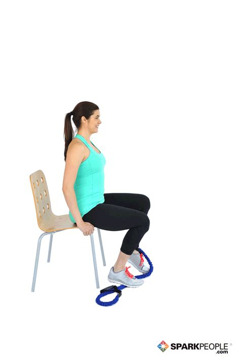 Chair Exercises With Bands by Turn Your Work Chair Into An Exercise Machine On