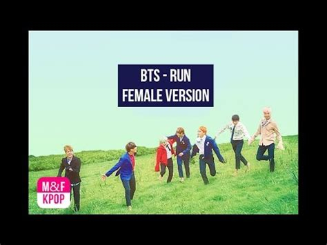 download mp3 bts run ballad version bts run female version youtube