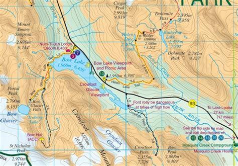 bow lake and saskatchewan crossing gem trek