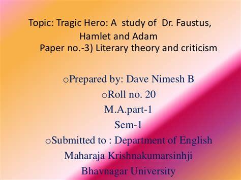 Faustus Tragic Essay by Tragic