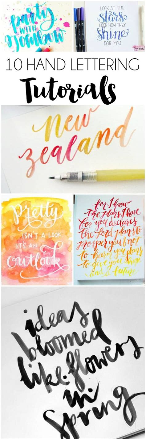 tutorial hand lettering indonesia best 25 hand lettering tutorial ideas on pinterest