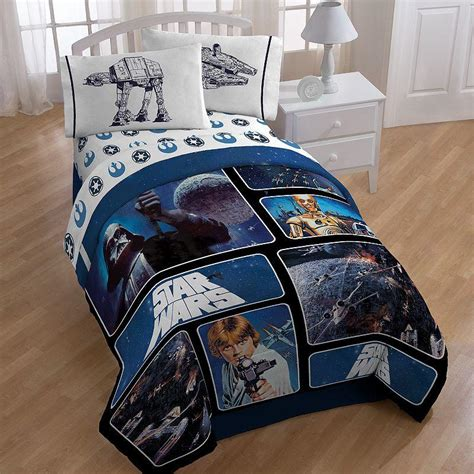 star wars bedding full star wars reversible comforter twin from kohl s epic