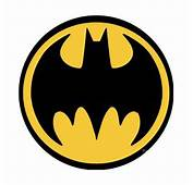 Batman Black Logo Button
