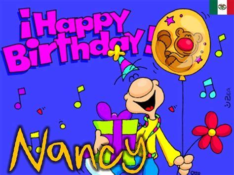 imagenes de feliz cumpleaños nancy feliz cumplea 241 os nancy