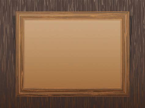 frame design bg brown wooden frame powerpoint templates border frames