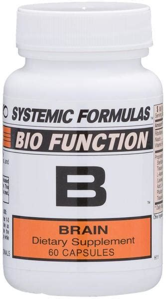 Systemic Formulas Intracellular Detox System by 12 B Brain By Systemic Formulas Is An Amazing
