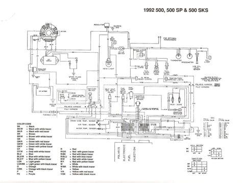 polaris sportsman 500 wiring diagram 4wd free