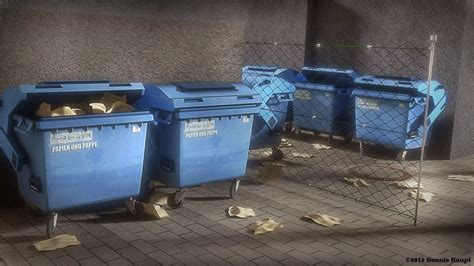 ragdoll 3ds max garbage container with ragdoll settings free vr ar low