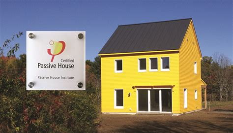 passive house certification integrity build house is first in the pioneer valley to receive passive house