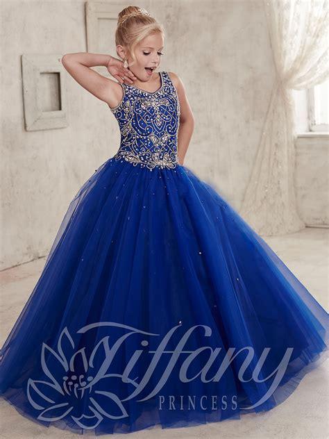 Dress Azum princess 13447 tulle skirt pageant dress