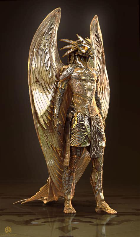 The Of Horus artstation gods of horus jared krichevsky