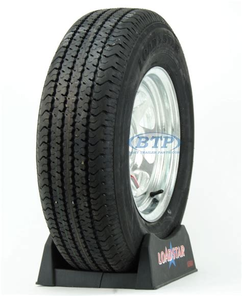 boat tires boat trailer tire st215 75r14 radial on galvanized rim 5