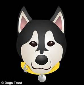 dog emoji keyboard lets you type in breeds of canine