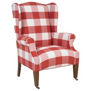 gingham armchair buffalo check chairs found on home 2 me com my