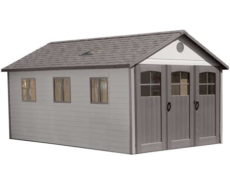 Storage Sheds For Less by Lifetime 8 Plastic Storage Shed Extension Kit 6422