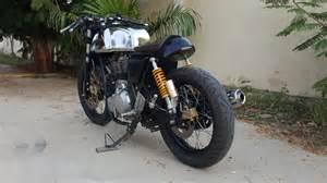 royal enfield gt cafe racer by j amp d custom co bikebound