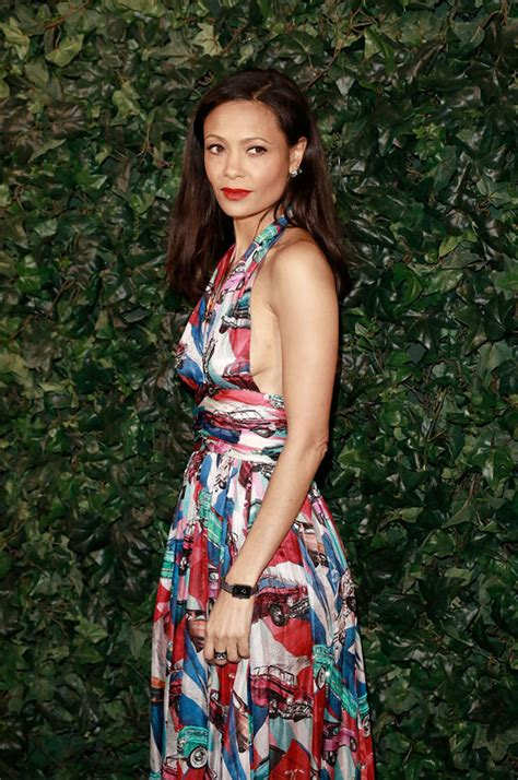 Catwalk To Carpet Thandie Newton Carpet Style Awards by Style File Thandie Newton Makes The Rounds In Chanel