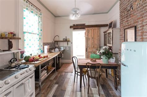 Vintage Kitchen New Orleans by Tour A Cozy Charming New Orleans Shotgun Industrial