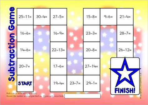 printable maths board games year 1 16 best images about fr 225 dr 225 ttur on pinterest bingo