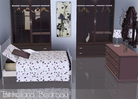 bedroom sims 3 my sims 3 blog birkeland bedroom set by breeze