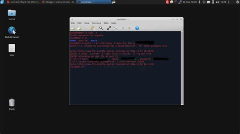 tutorial hydra linux cracking ftp password using hydra on backbox linux