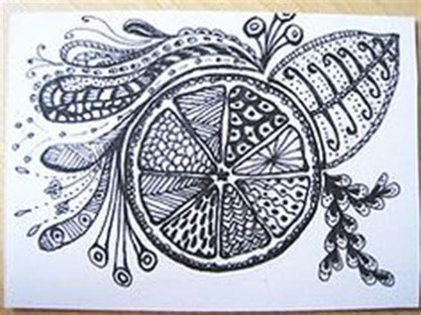 fruit zentangle fruit zentangle my zentangles fruit and
