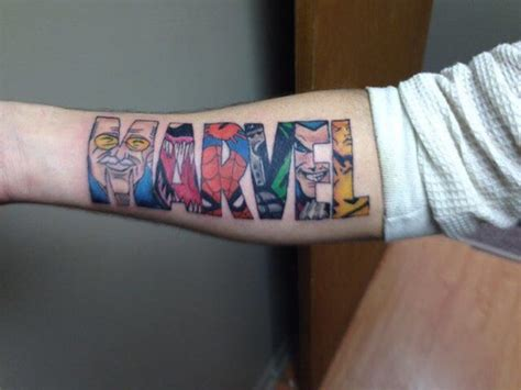 marvel tattoo marvel tattoos designs ideas and meaning tattoos for you
