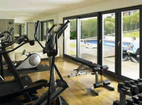 ideas for home fitness room decorin