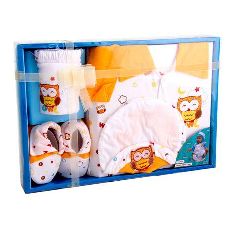 Kiddy Baby Set Owl Pink kiddy baby gift set owl 11150 set pakaian bayi 3 warna