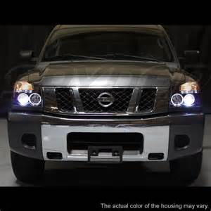 Nissan Titan Halo Headlights Hid Xenon 04 14 Nissan Titan 04 07 Armada Dual Halo
