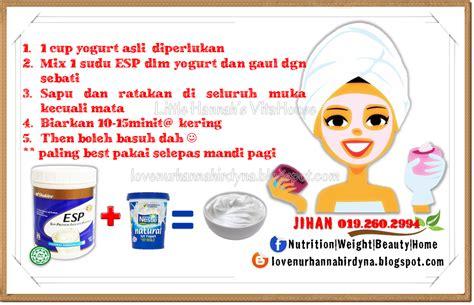 Masker Vitamin Yogurt cara mudah murah simple masker vitamin shaklee s vitahouse