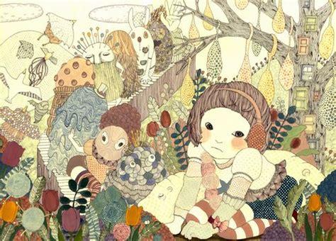 japanese illustration now 0500289700 海外で広がる古姓瑶子の世界 ny拠点に活躍する気鋭のイラストレーター narinari com
