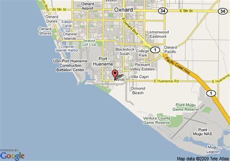 california map oxnard oxnard california map and oxnard california satellite image