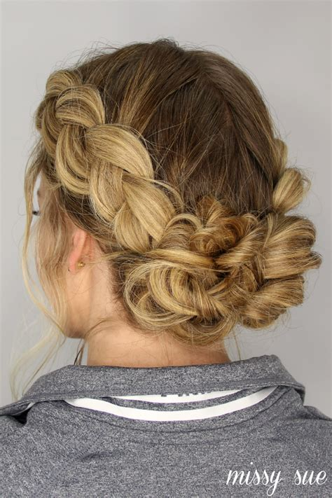 Hairstyles Buns Braids by Braids And Buns