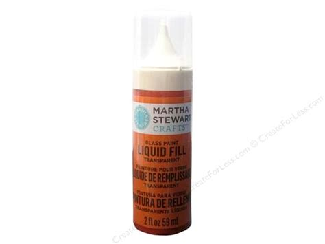 martha stewart glass paint 2 oz liquid fill monarch orange createforless