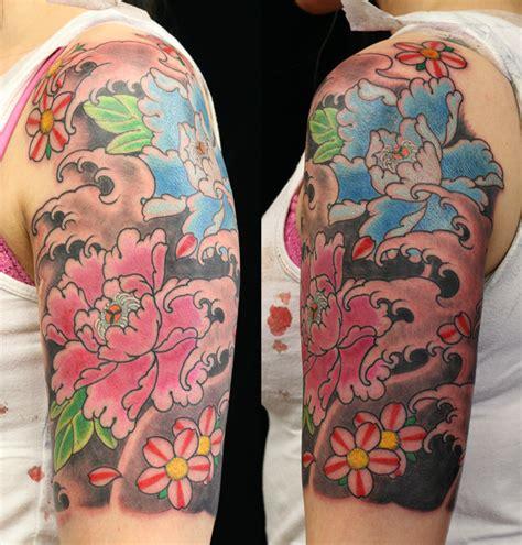 peonie tattoo peonie flower sydney jpg