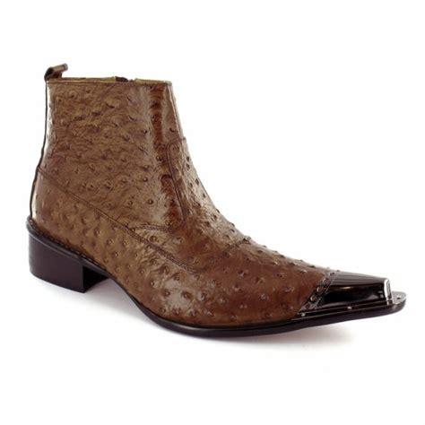 mens designer ankle boots gucinari mens premium speckled leather designer toe cap