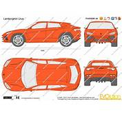 The Blueprintscom  Vector Drawing Lamborghini Urus