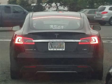 Vanity Plates by Best Tesla Vanity Plate Yet Gas 2