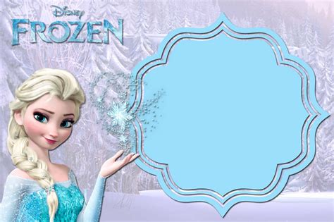 free printable frozen invitation templates bagvania free
