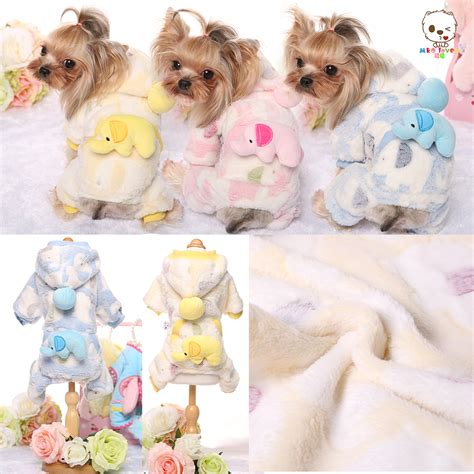 puppies in baby clothes aliexpress buy flannel clothes baby elephant print warm parkas pet clothing
