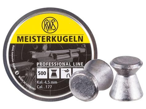 Mimis Rws Meisterkugeln Pellet Cal 177 4 5mm Germany rws meisterkugeln rifle 177 cal 8 2 grains wadcutter